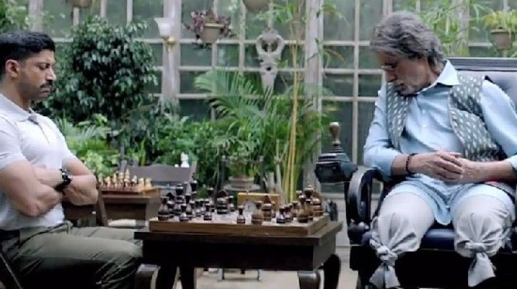 43 wheelchairs were tried in Wazir before finalizing the one scene in the trailers