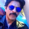 SRK shares mustachioed look