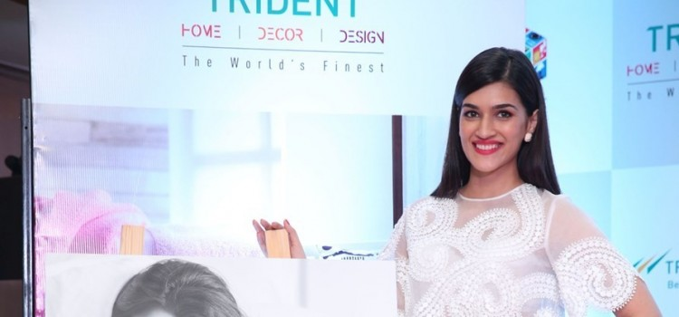 "Actress Kriti Sanon unveils Trident Limited's latest Bath & Home Linen Collection campaign ""The Affair to Remember"""