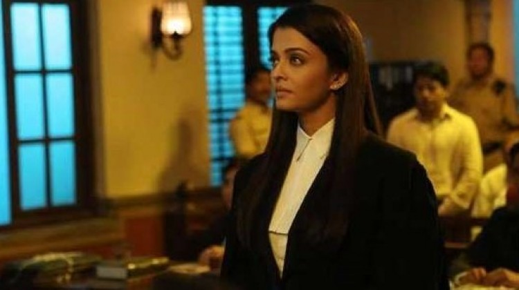 Aishwarya Rai's Lawyer Look in Jazbaa