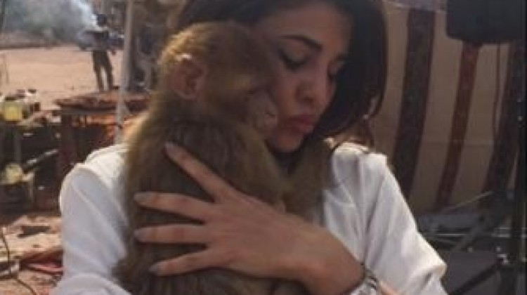Awww…So cute!! Jacqueline Fernandez With Baby Coco