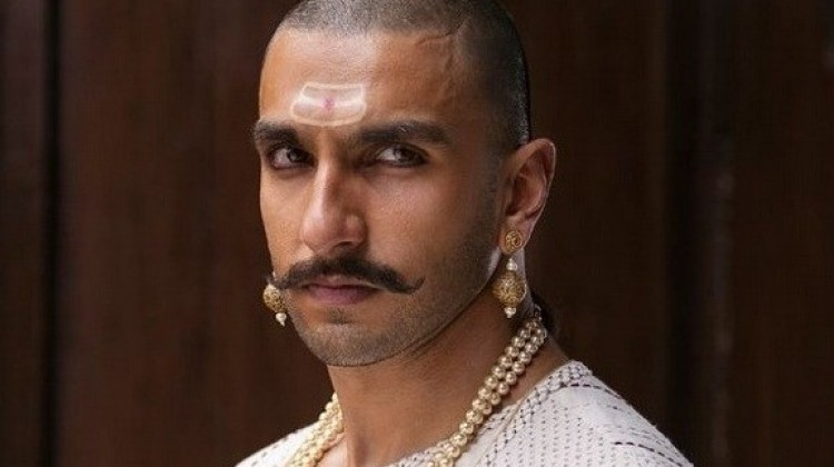 Bajirao aka Ranveer's look is out!
