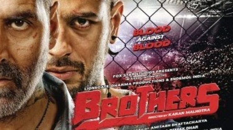 Watch : Akshay And Sidharth Sweat Out In 'Brothers' Anthem