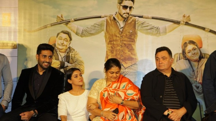 Abhishek bachchan and Rishi Kapoor starrer film All is Well trailer is out