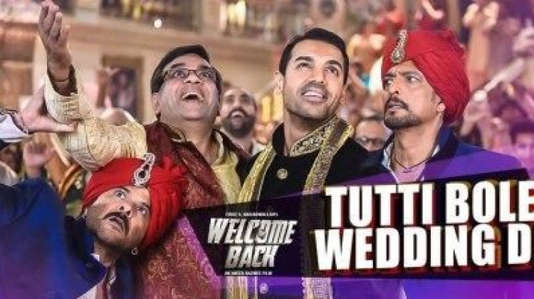 Watch : 'Tutti Bole Wedding Di', The Very First Song From 'Welcome Back'