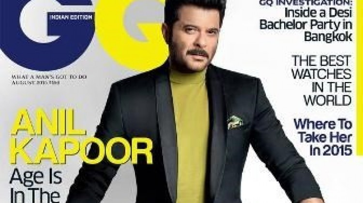 """Anil Kapoor Bags """"GQ"""" Cover Page!"""