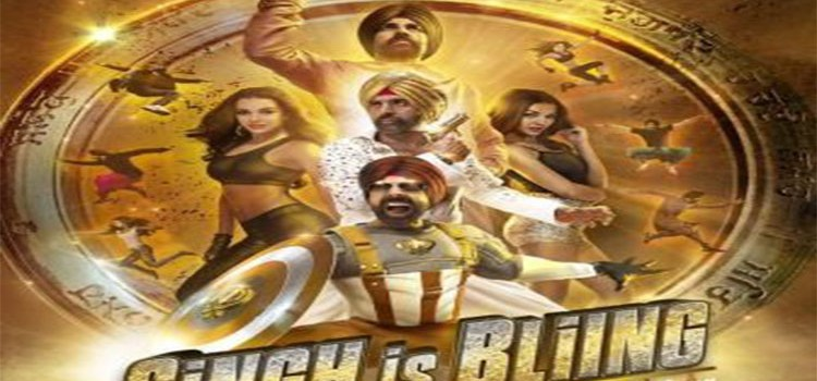 """Akshay and Amy Unveils """"Singh is Bliing"""" First look out, Trailer Today!"""