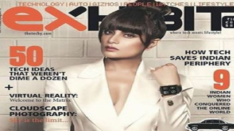 "Richa Chadda ""Exhibit"" Cover Girl!"