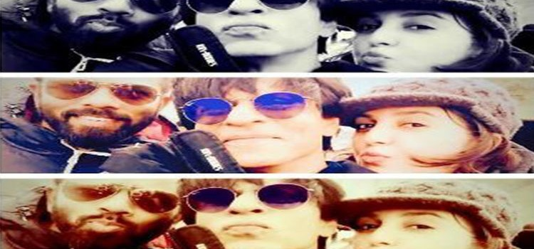 ShahRukh Khan, Rohit Shetty and Farah Khan in Iceland For Dilwale