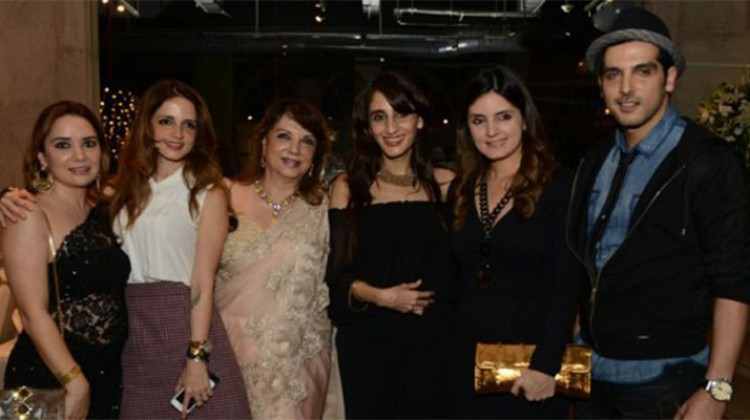 Hrithik Roshan's Mother-in-law Zarine Khan unveils her Cook-book