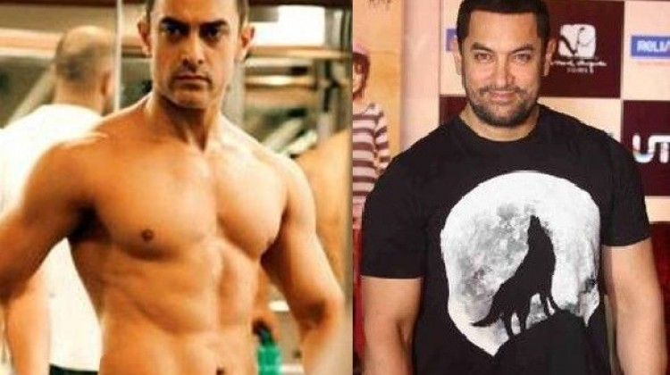 """Aamir Khan """"Weight gain and Weight loss"""" for Dangal"""
