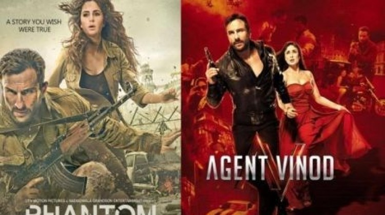 'Agent Vinod' And 'Phantom' Are Two Completely Different Films : Saif Ali Khan