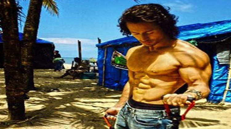 """Tiger Shroff """"Action Time"""" on """"Baaghi"""""""