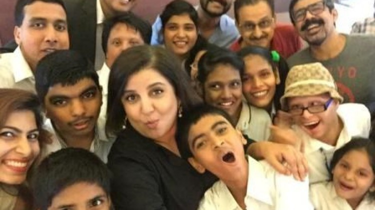 Farah Khan Helps Raise Funds for Intellectually Challenged Kids