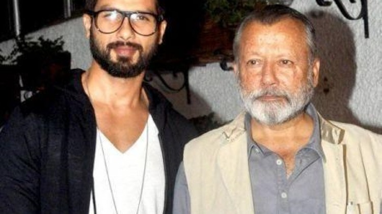 Performing with dad is like standing with principal : Shahid Kapoor