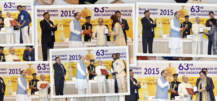 Glimpse of 63rd National Film Awards Function