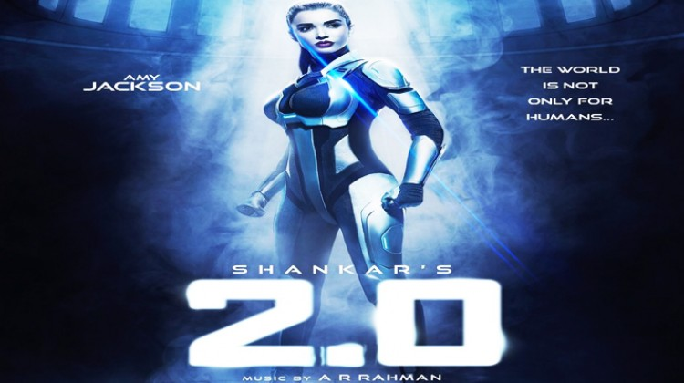"Amy Jackson will play robot in ""Rajinikanth's 2.0"""