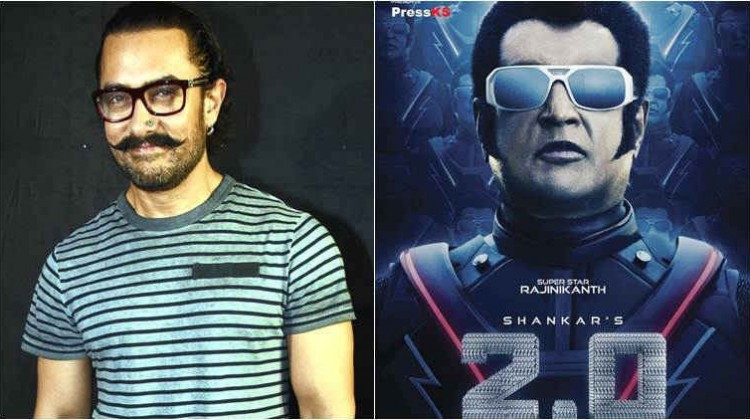 """Aamir Khan reveals he was the second choice for """"2.0"""" when Rajinikanth was facing health issues"""