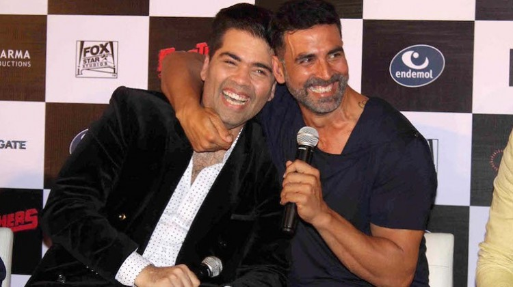 "Akshay Kumar and Karan Johar join hands for ""Kesari"""