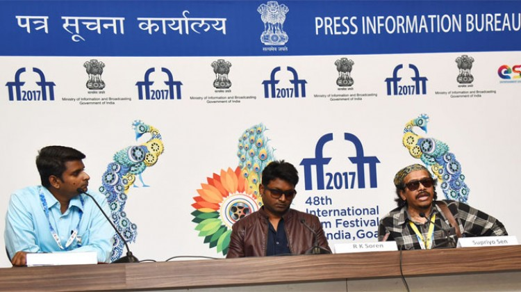 Filmmakers Supriyo Sen & RK Soren talks about their films at IFFI 2017!