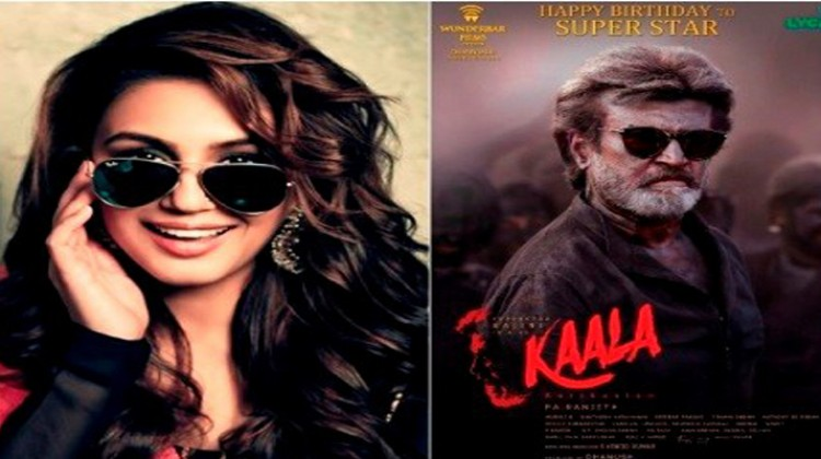 "Huma Qureshi Unveils Rajinikanth as ""Kaala"", Poster!"