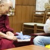 John Abraham meets with Dalai Lama
