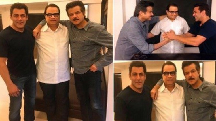 "Salman Khan Welcomes Anil Kapoor on-board ""Race 3"""