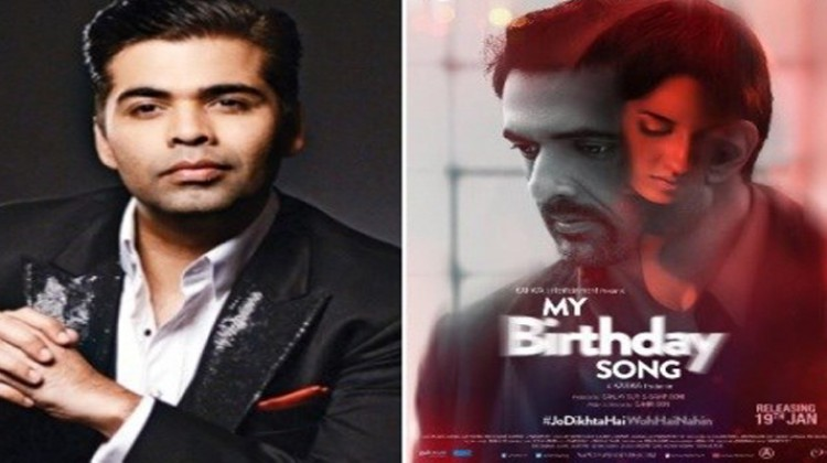 "Karan Johar Unveils ""My Birthday Song"" Official Poster"