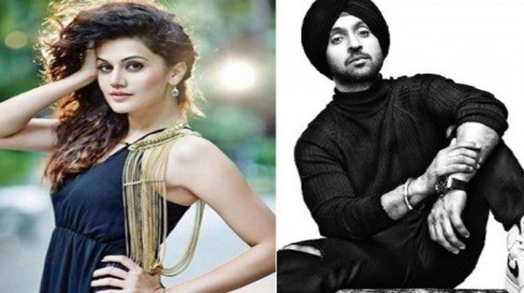 Diljit Dosanjh is a really good actor – Taapsee Pannu