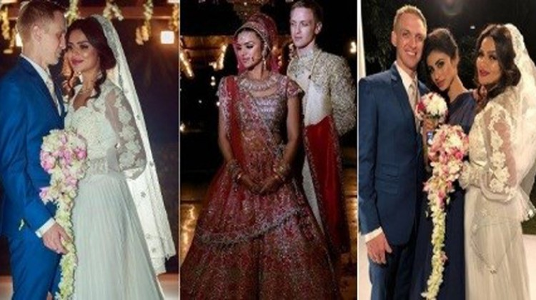 "Aashka Goradia And Brent Goble hitched in ""Hindu-Christian"" Wedding"