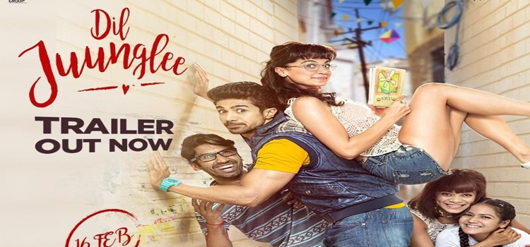 Tapsee Pannu release the first song from film 'Dil Juunglee'