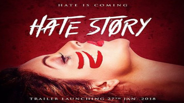 "Urvashi Rautela Looks Hot in ""Hate Story 4"" Poster"