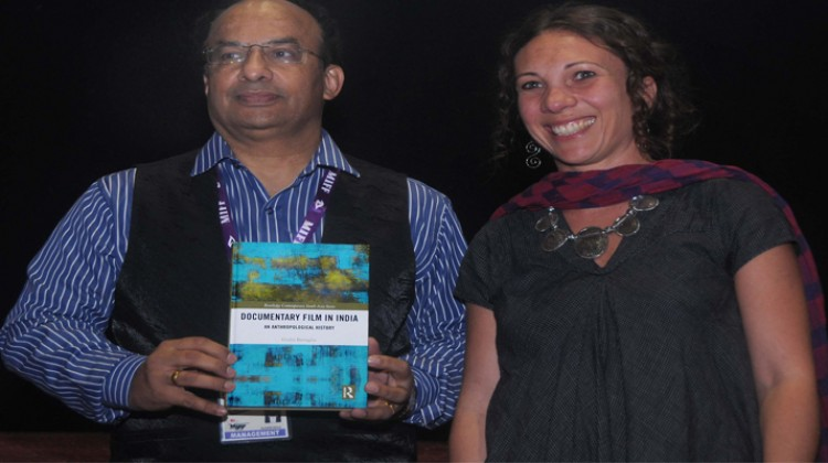 "A BOOK, ""DOCUMENTARY FILM IN INDIA-AN ANTHROPOLOGICAL HISTORY ""- WAS RELEASED IN MIFF 2018"