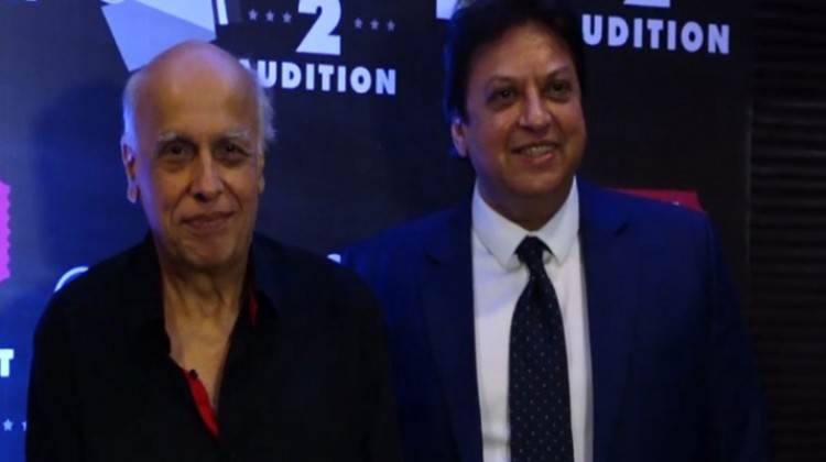 "Mahesh Bhatt and Richa Chadda launch Shashi Ranjan's ""Ticket 2 Audition.com"""