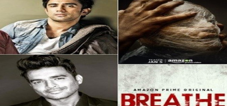"""R Madhavan and Amit Sadh, Excited About """"Breathe"""" Teaser"""