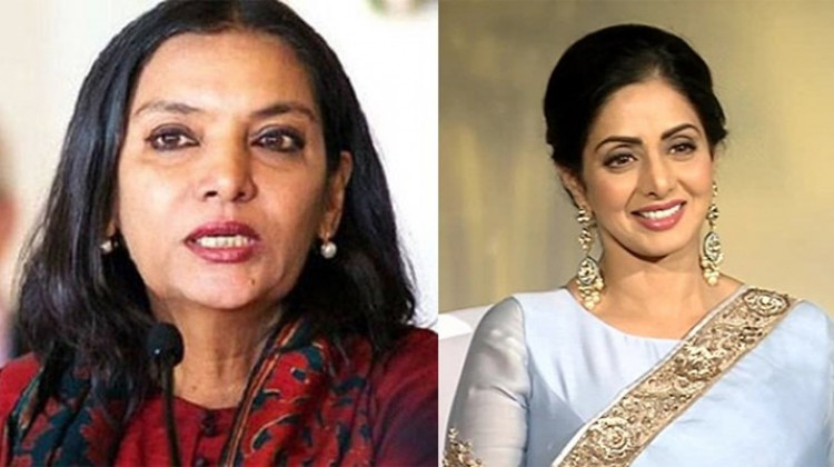 Shabana Azmi cancels her Holi party in the wake of Sridevi's death