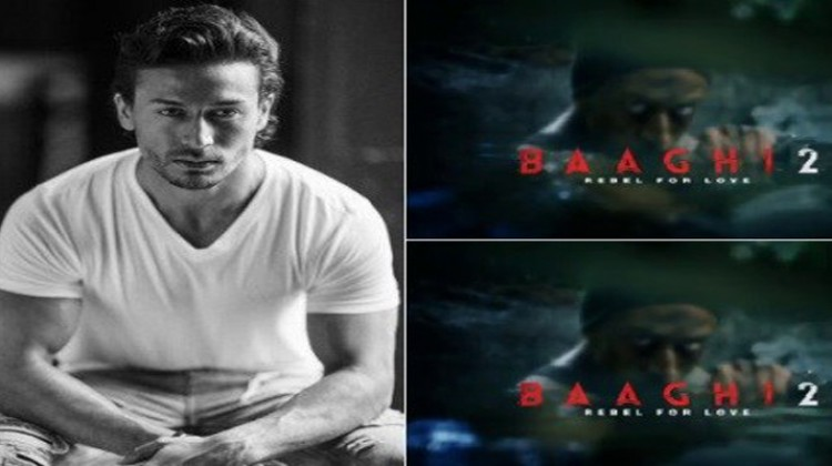 "Check Out Tiger Shroff in ""Baaghi 2"" Teaser"