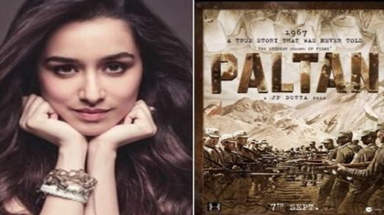 Shraddha Kapoor Unveils Paltan Poster and Release Date