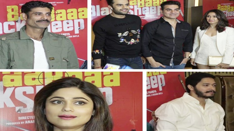 "Bollywood celebrities attend special screening of ""Baa Baaa Black Sheep"""