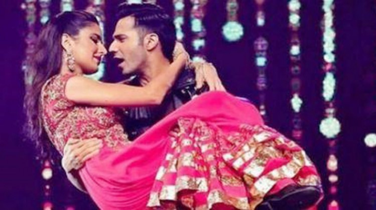 Varun Dhawan and Katrina Kaif in Dance 3D Movie