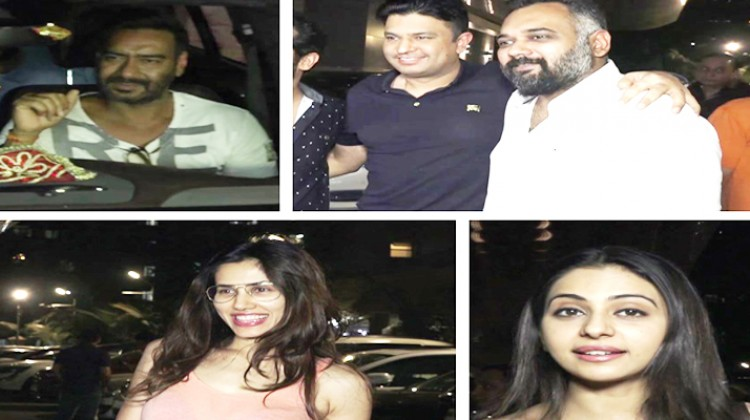 """Bollywood celebrities attend special screening of """"Raid"""""""