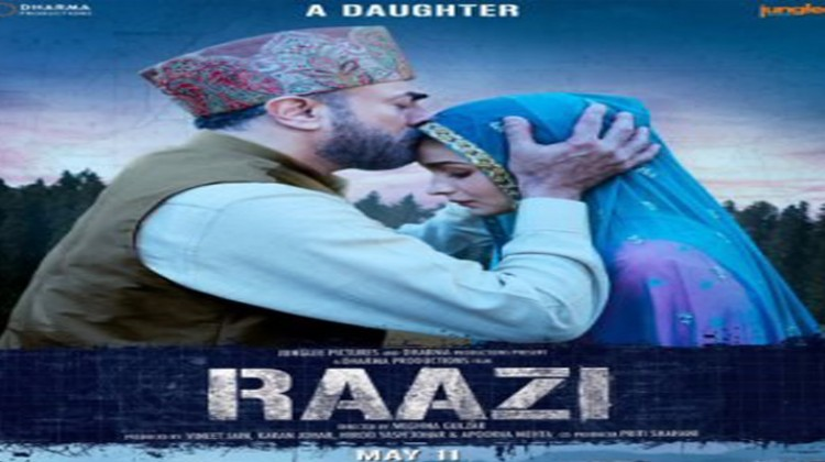 "Alia Bhatt Shares Official Poster Of ""Raazi"""