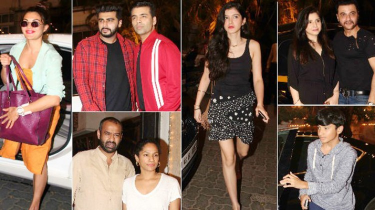 Bollywood celebrities gather at Anil Kapoor's residence for Sonam's sangeet and wedding preparation