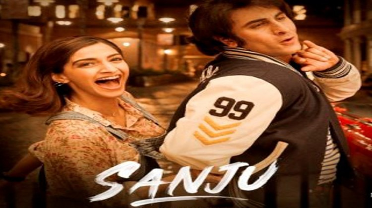 "Sonam Kapoor And Ranbir Kapoor Looks Adorable in ""Sanju"" Poster"