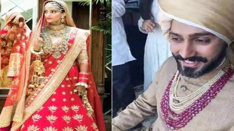 Meet The Bride And Groom – Sonam Kapoor And Anand Ahuja