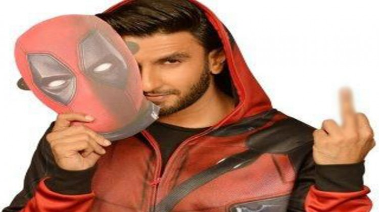 "Ranveer Singh is the voice of ""Deadpool 2"" in Hindi!"