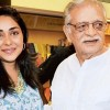 Fulfillment to be in the audience of your daughter's work: Gulzar