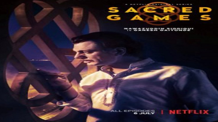 """Nawazuddin Siddiqui Unveils New Poster from """"Sacred Games"""""""