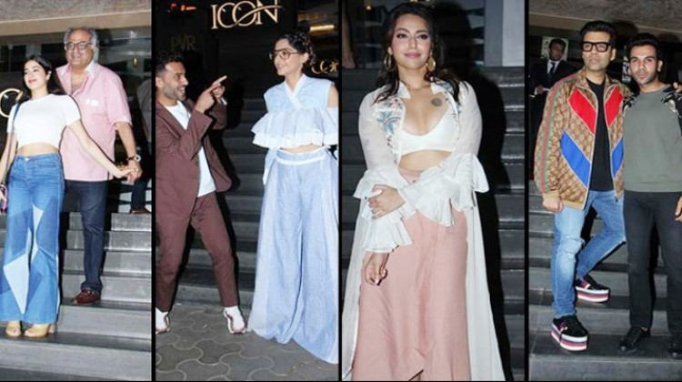 """Bollywood attend the special screening of """"Veere di Wedding"""""""
