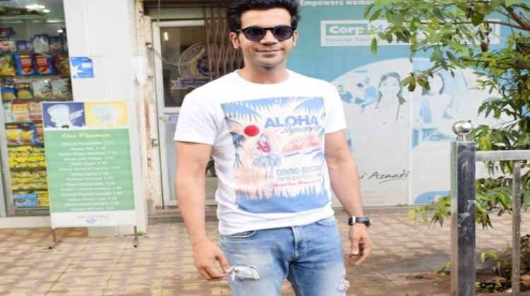 "Rajkummar Rao wraps shooting for ""Fanne Khan"""